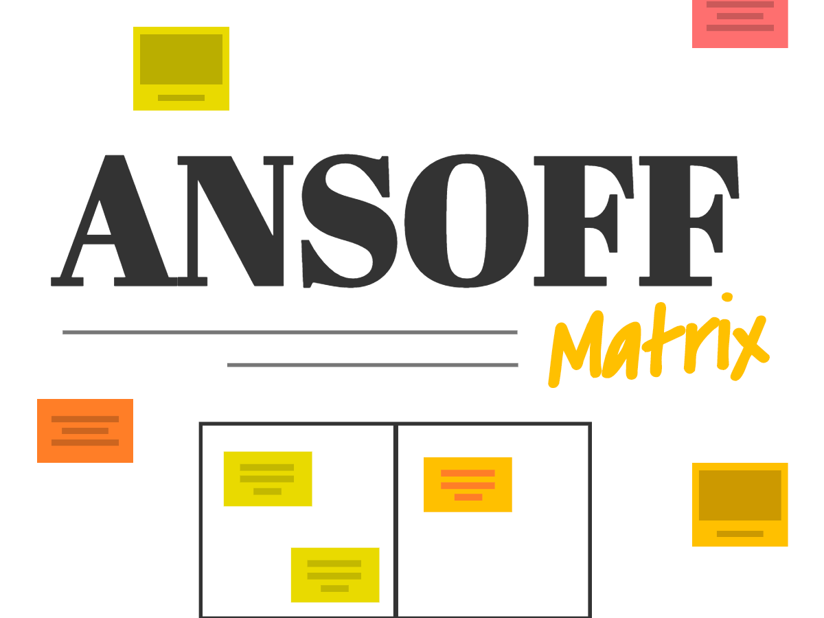 Ansoff Matrix analysis free template