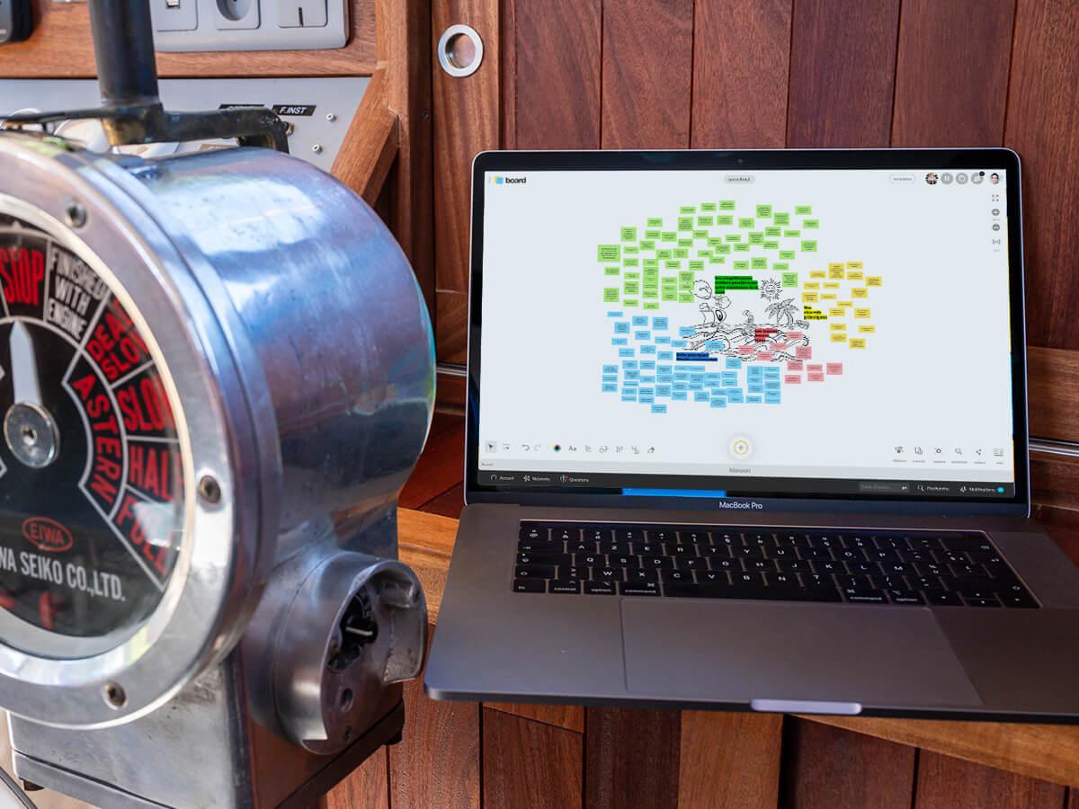 speedboat remote work computer