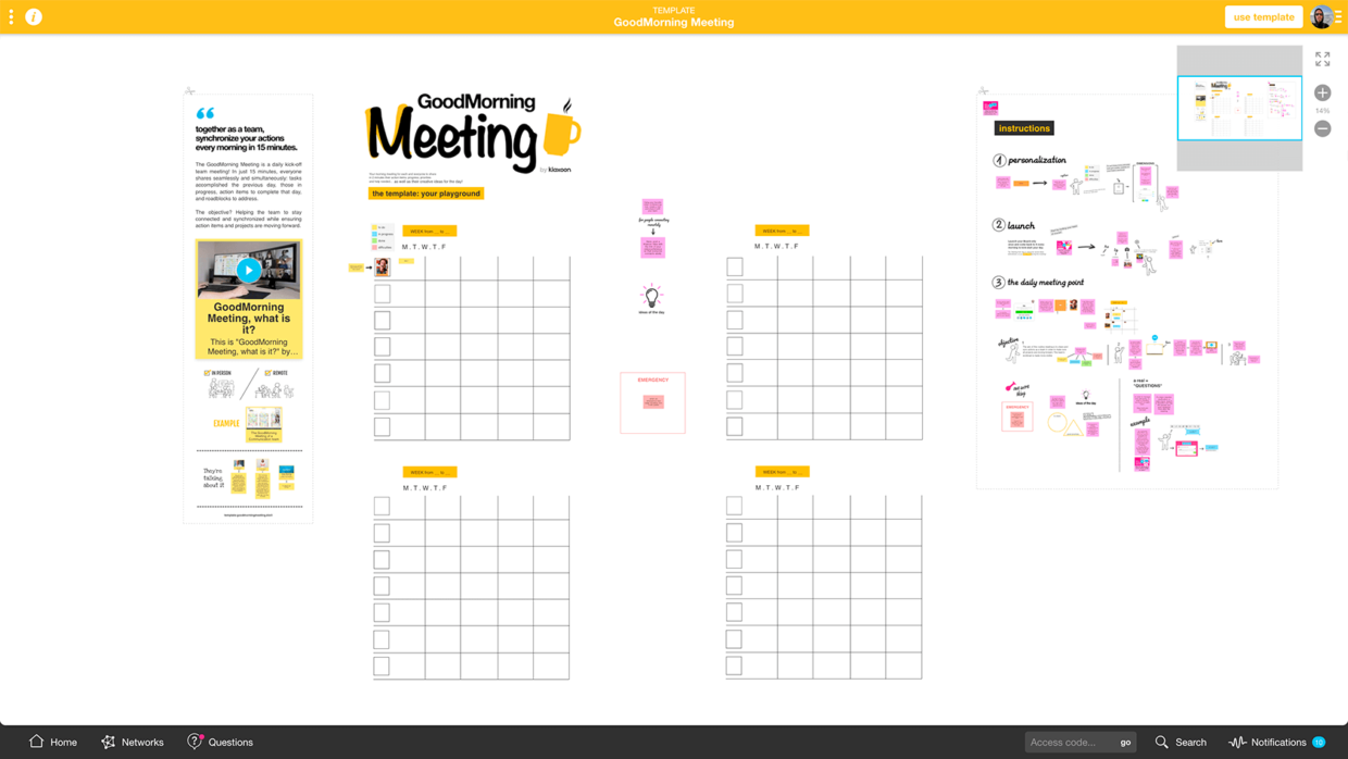 improve your team daily meeting with free and online template   Klaxoon