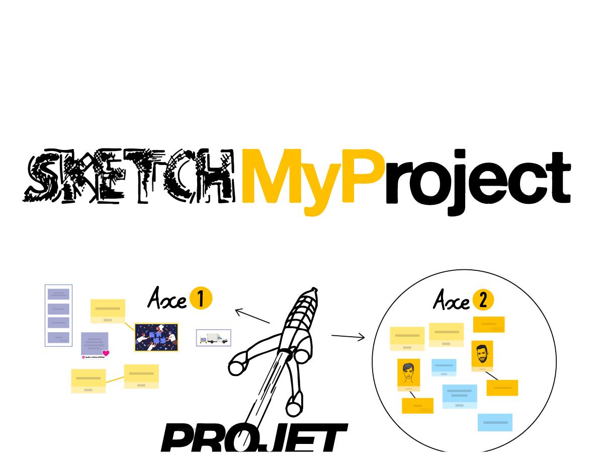 Gérer efficacement des projets avec le template SketchMyProject |Klaxoon