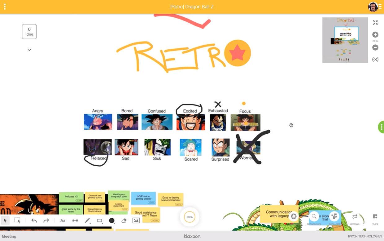 Rétro Dragon Ball Z  Klaxoon