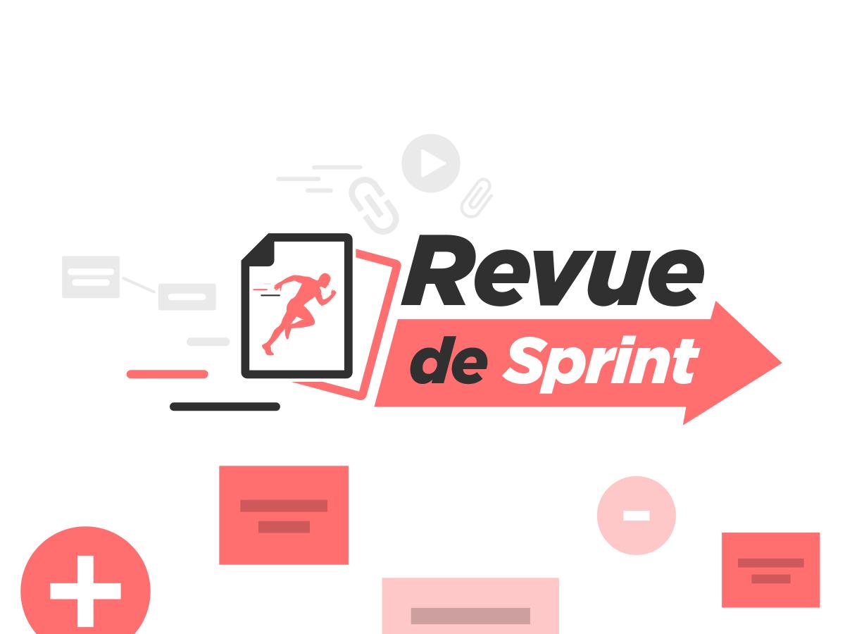 template revue de sprint