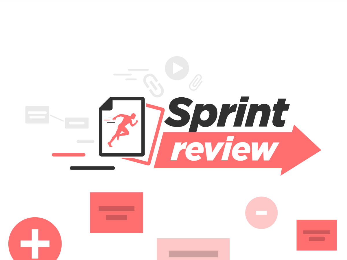 sprint review template