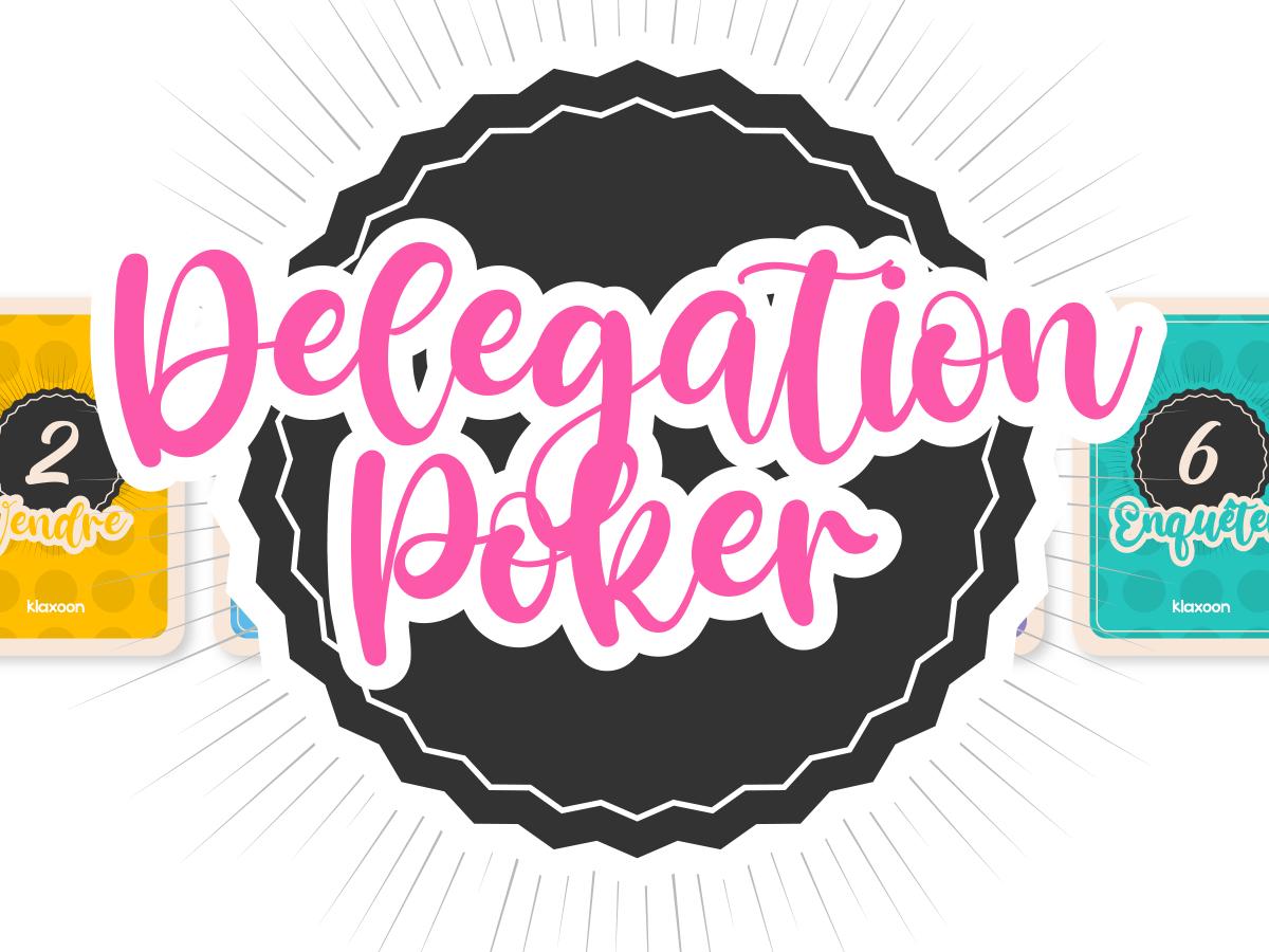 Template Delegation Poker
