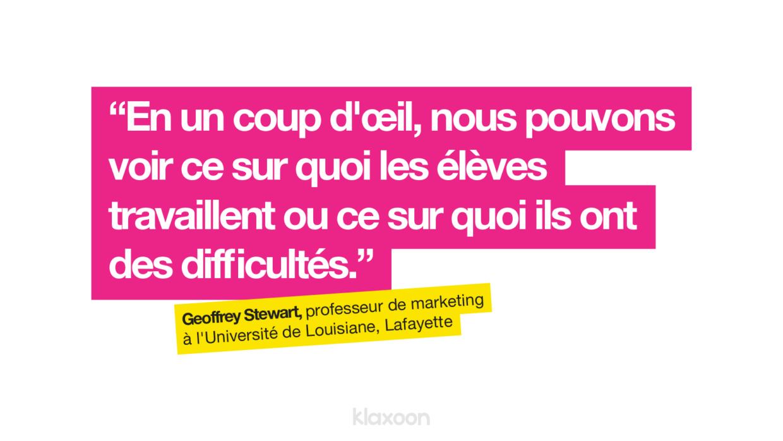 Formation à distance : cours de marketing avec les templates sur whiteboard | Klaxoon