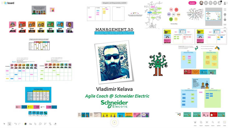 An example of a Management 3.0 workshop organized by Vladimir Kelava | Klaxoon