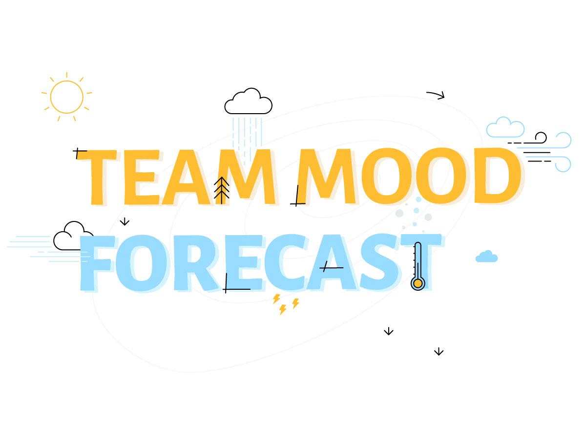 Team mood forecast klaxoon template