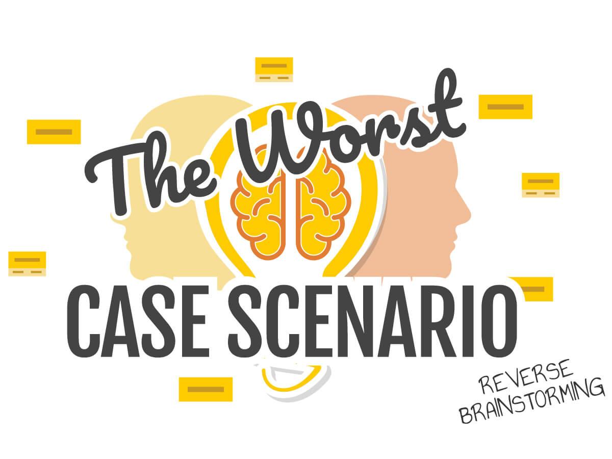 Worst case scenario workshop online with Klaxoon