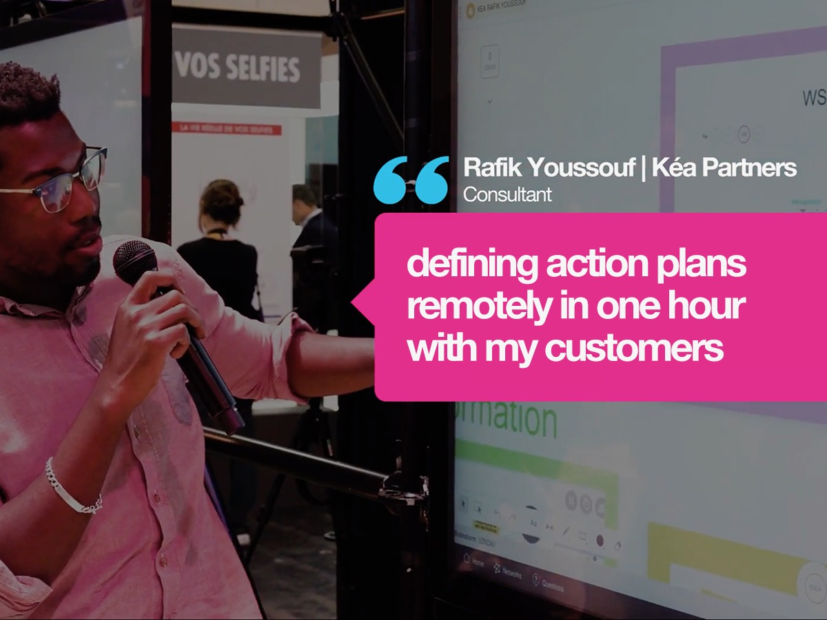 How Rafik defines action plans remotely with his clients in one hour?