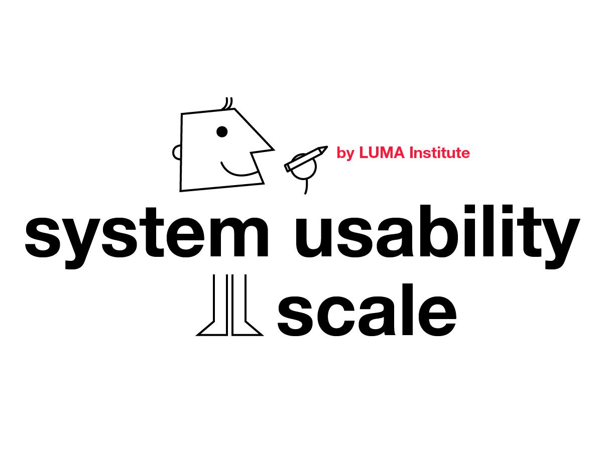 Design thinking by LUMA: system usability scale method | Klaxoon