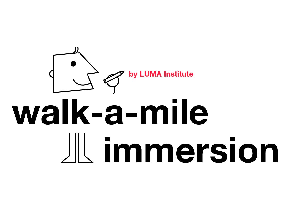 Design thinking by LUMA: walk-a-mile immersion method | Klaxoon