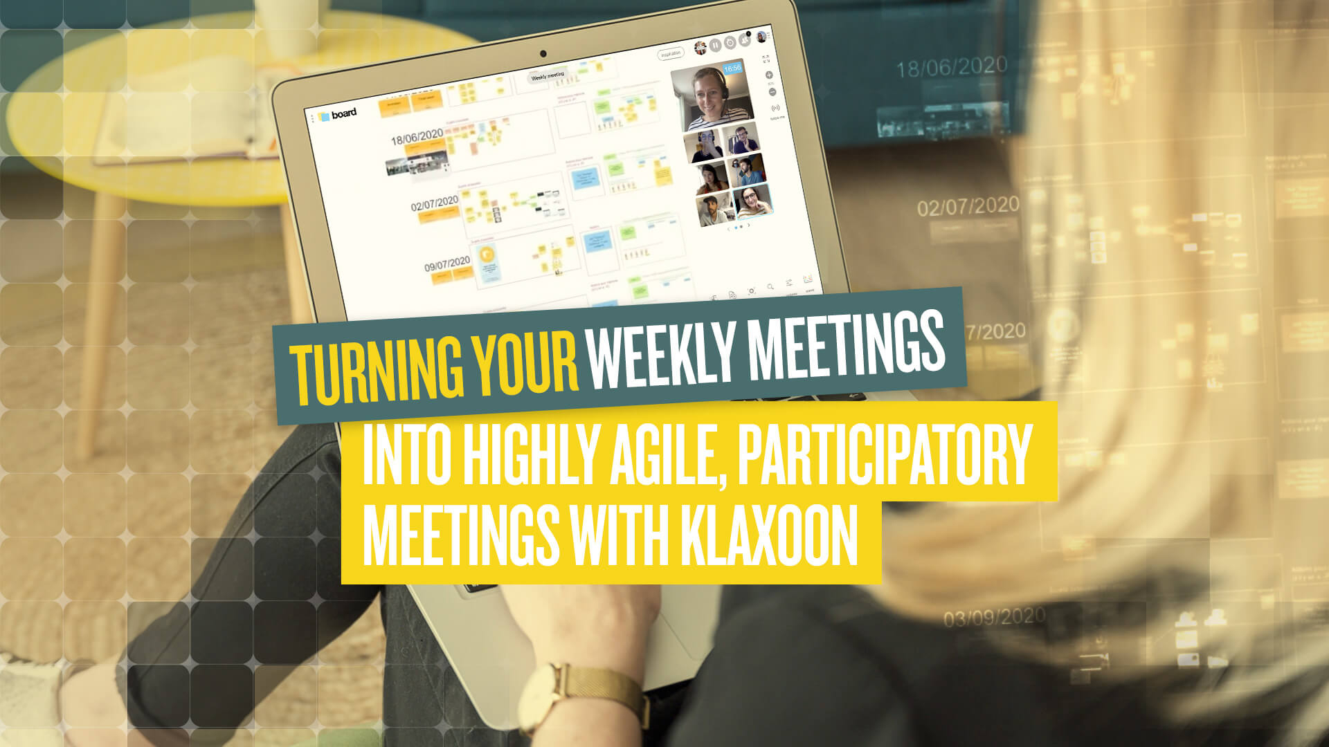 Turning your weekly meetings into highly Agile participatory meetings |Klaxoon
