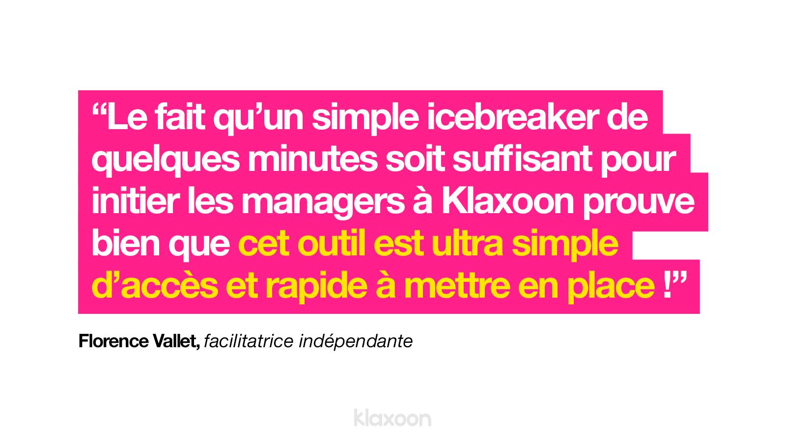 Icebreaker : un outil efficace  Klaxoon