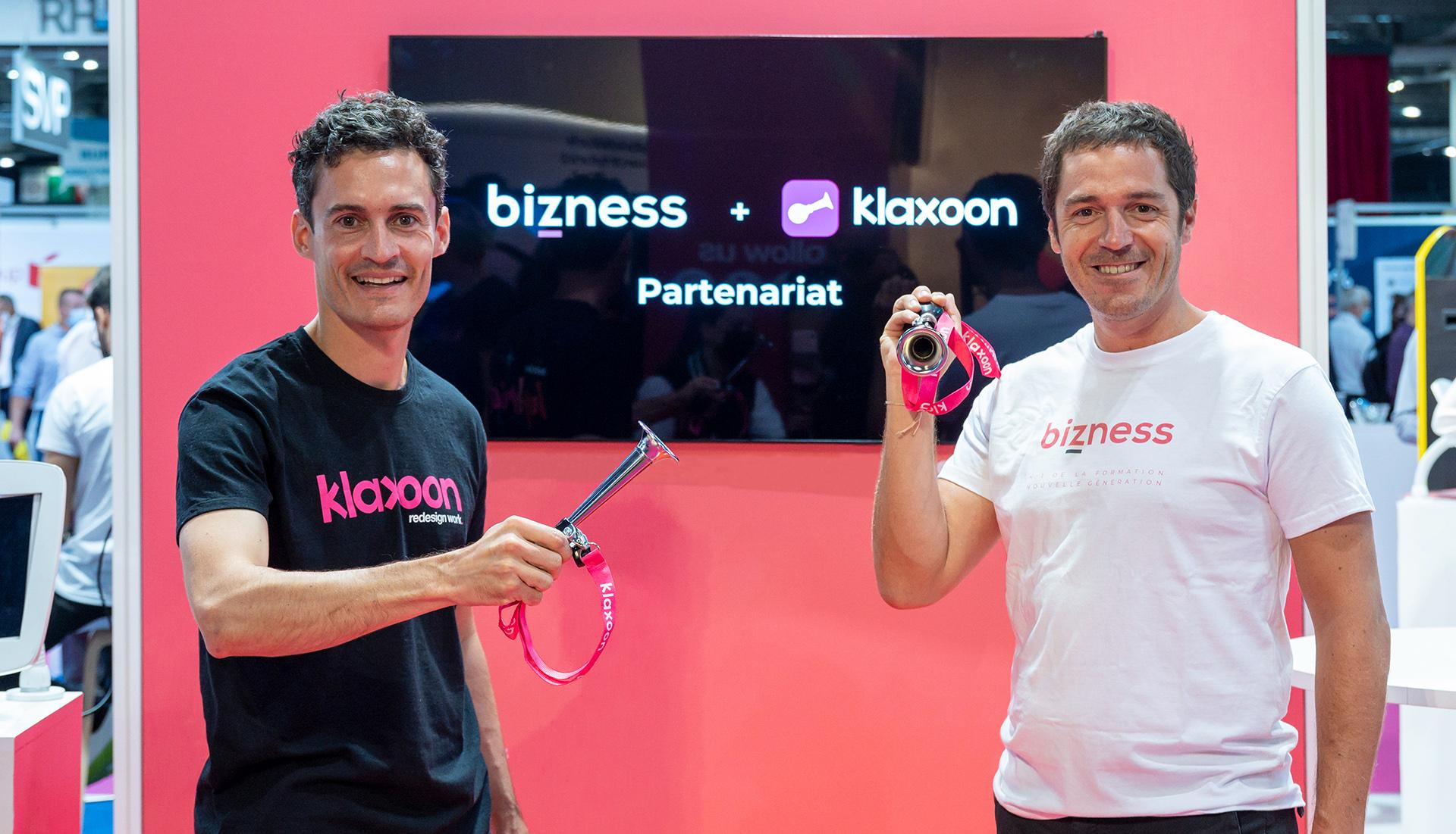 formation à distance sur Board Hybrid | partenariat Bizness Storiz |Klaxoon