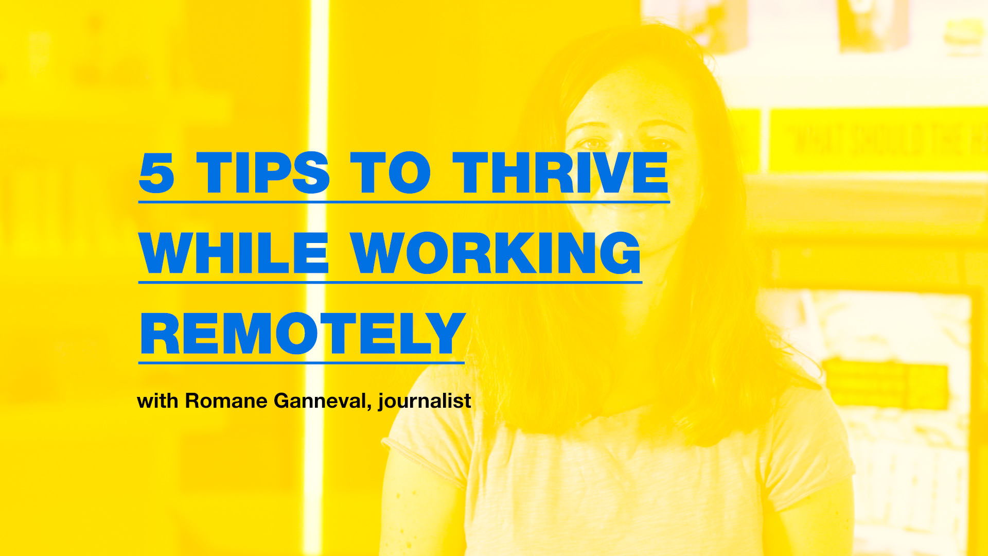 5 tips to thrive while working remotely |Klaxoon