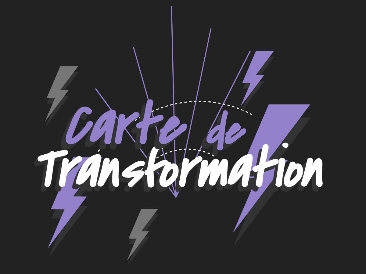 Management visuel et carte de transformation : un template gratuit pour cartographier votre stratégie de changement | Klaxoon
