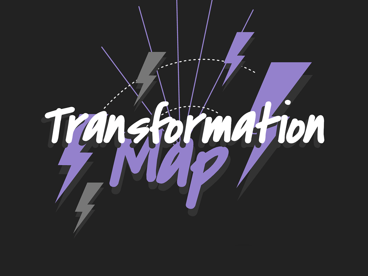 Transformation map : test the Transformation map with the free template |Klaxoon