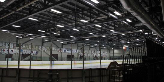 Lighting retrofits at the KC Irving Regional Center