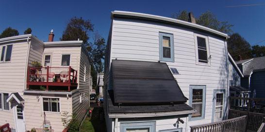 Halifax solar home