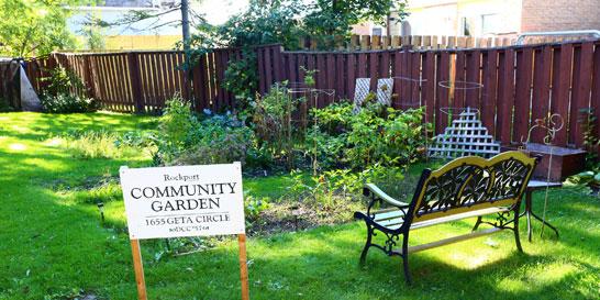 Rockport Community Garden in Pickering