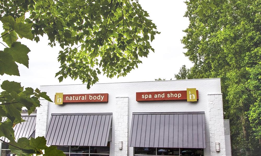 Exterior of Natural Body Morningside storefront.