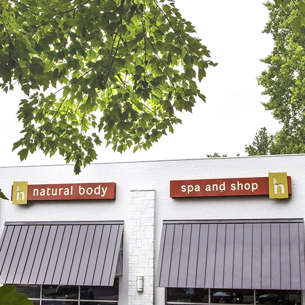 Natural Body Morningside storefront.