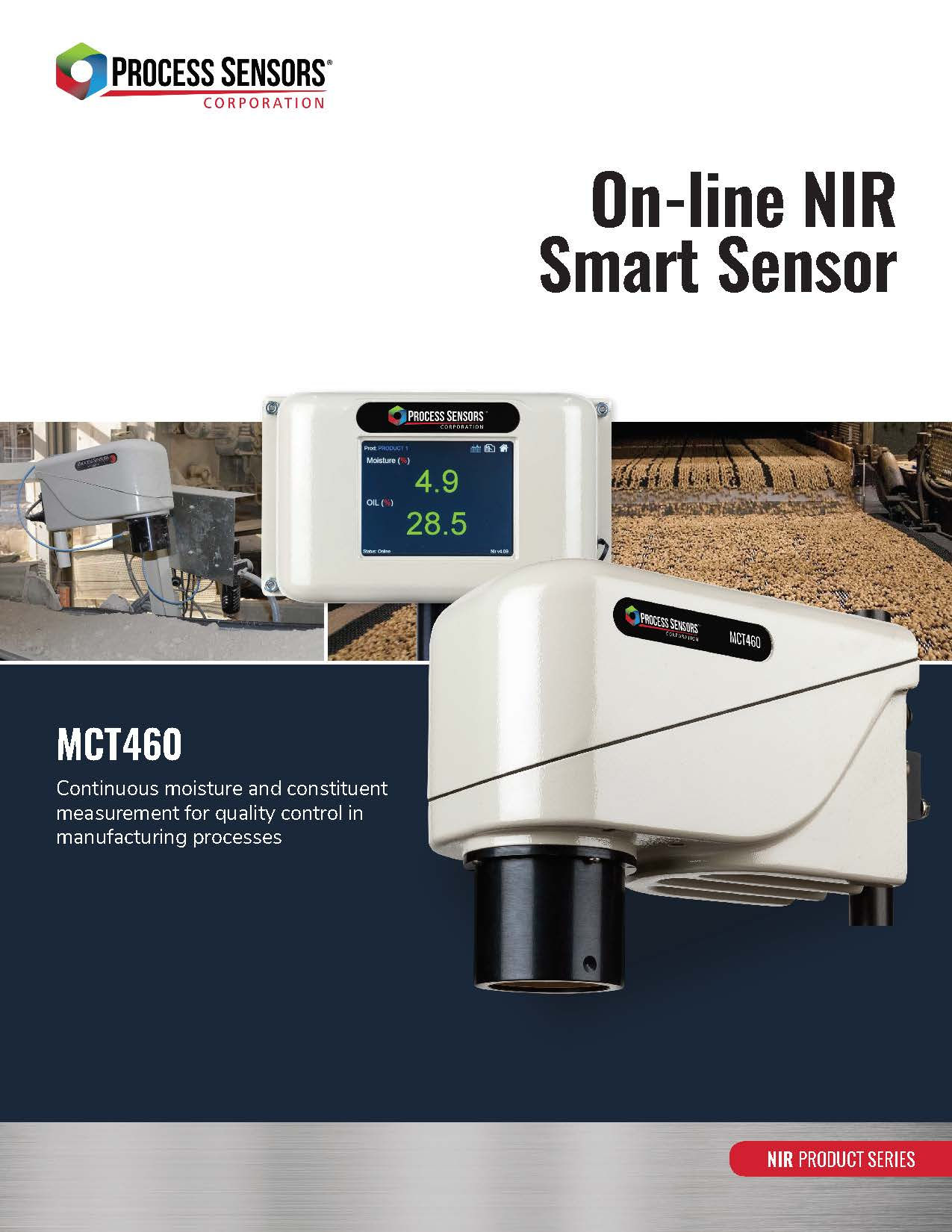 MCT 460 Online Moisture Detector