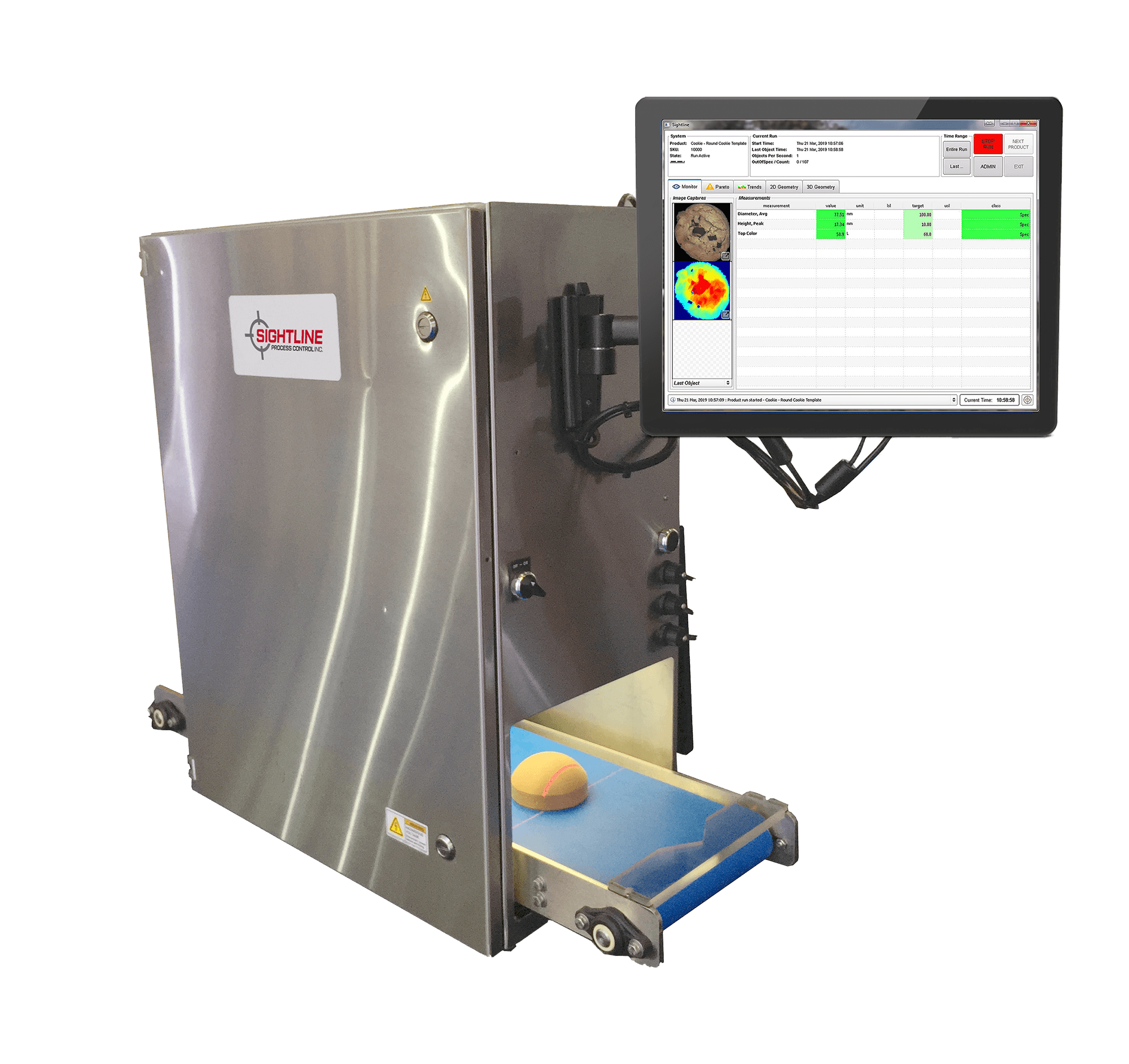 Benchtop Vision Inspection System