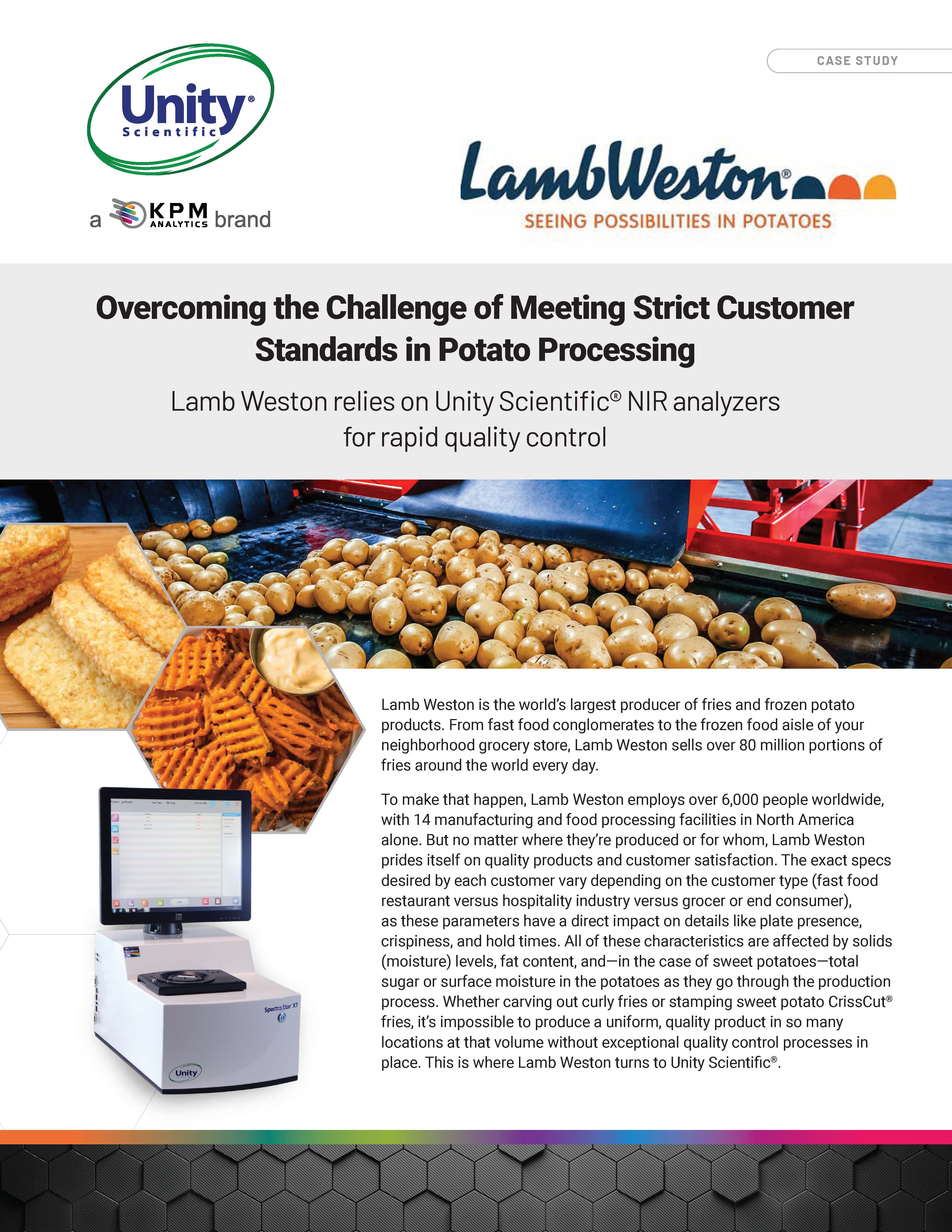 Overcoming the Challenge of Meeting Strict Customer Standards in Potato Processing