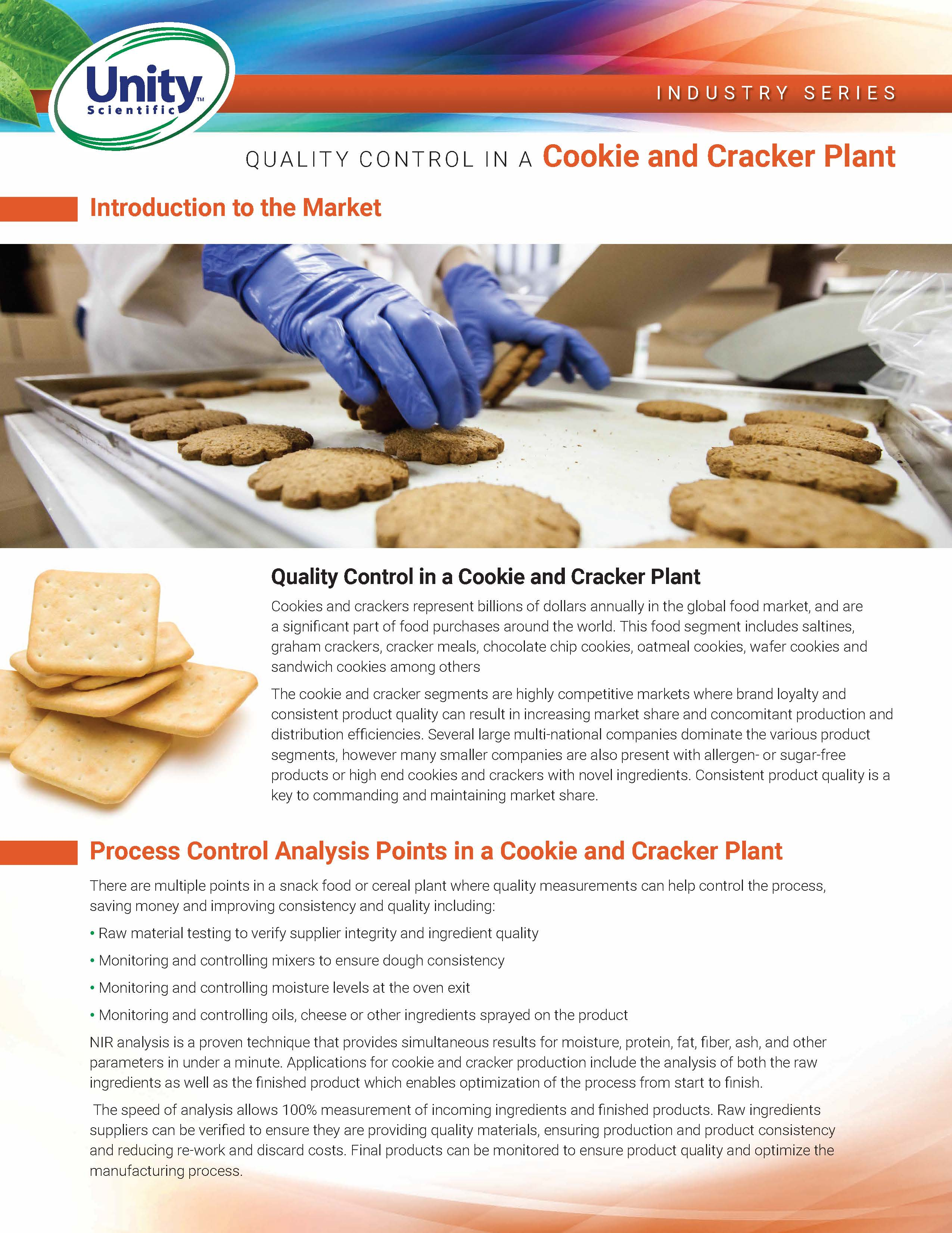 Industry Series - Quality Control In A Cookie and Cracker Plant