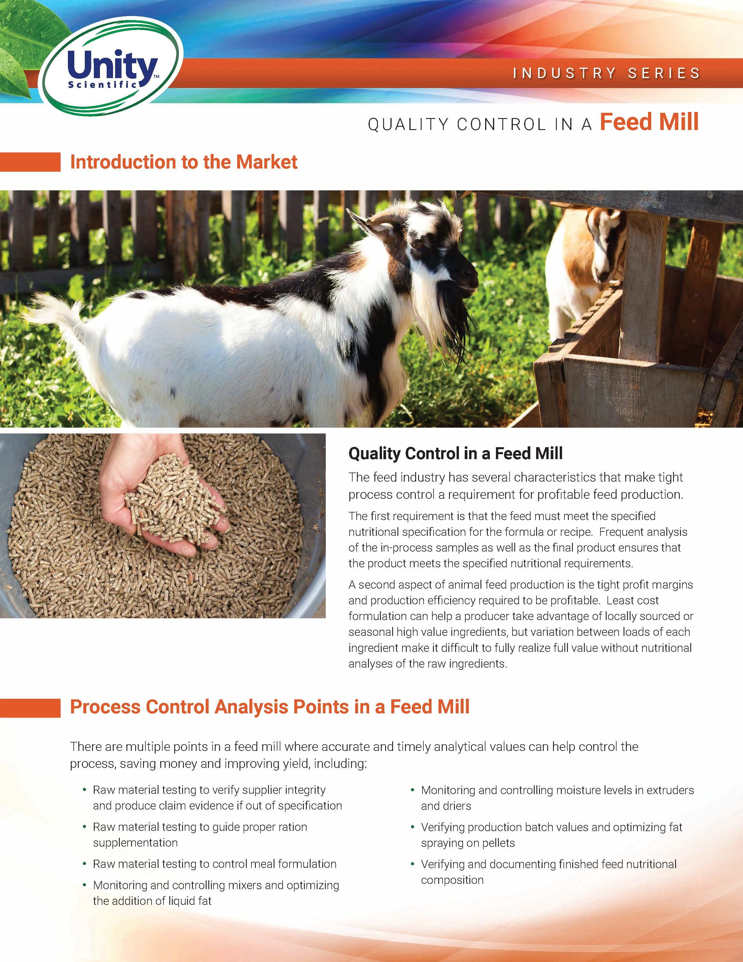 Industry Series - Quality Control In A Feed Mill