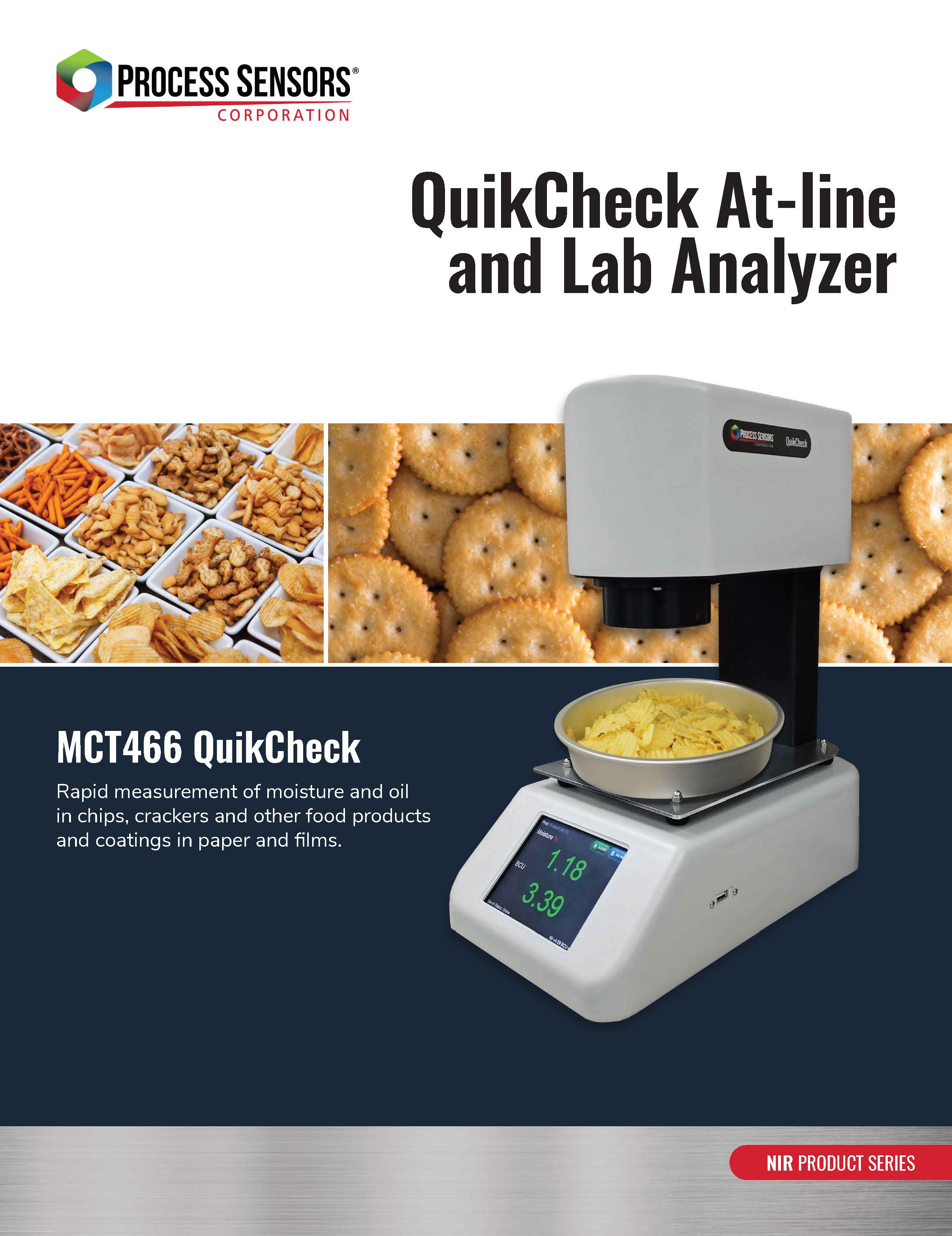 QuikCheck At-Line and Lab Analyzer