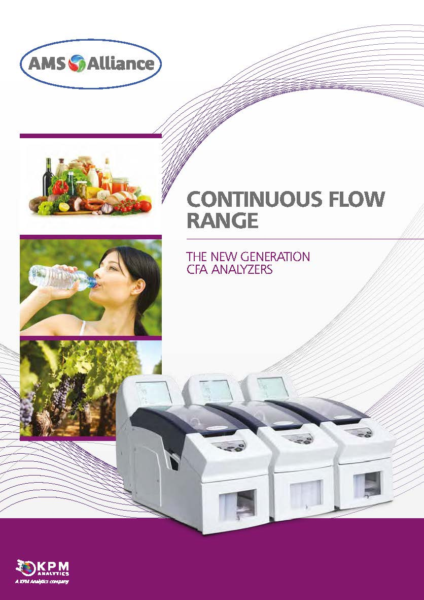 Continuous Flow Analyzer Range