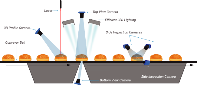 Sightline In-Line Vision System Components
