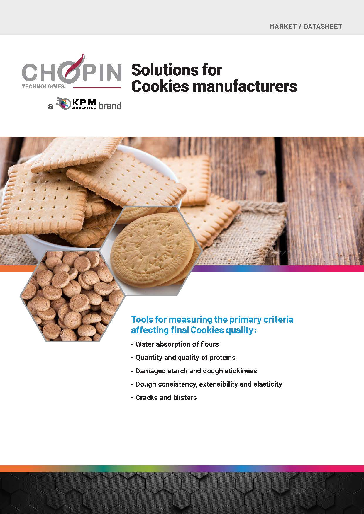 Solutions for Cookies Manufacturers