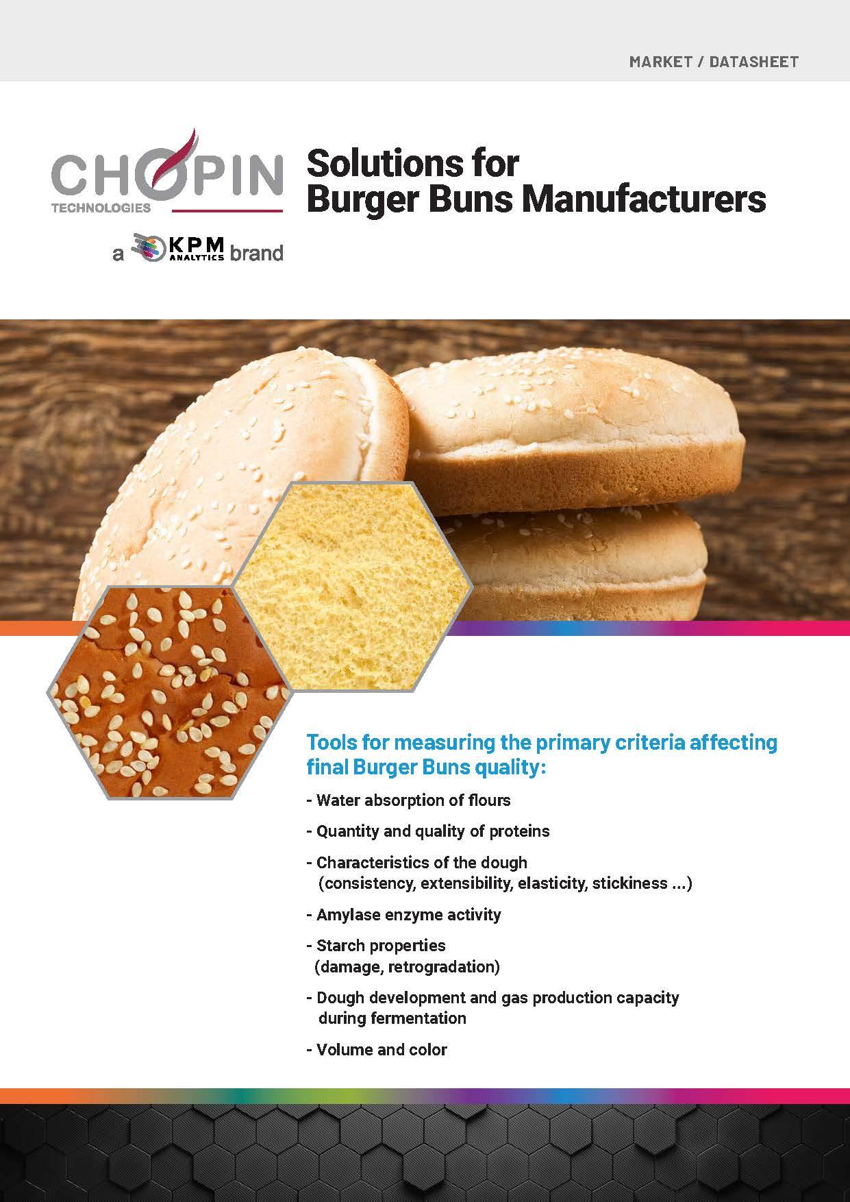 Solutions for Burger Bun Manufacturers