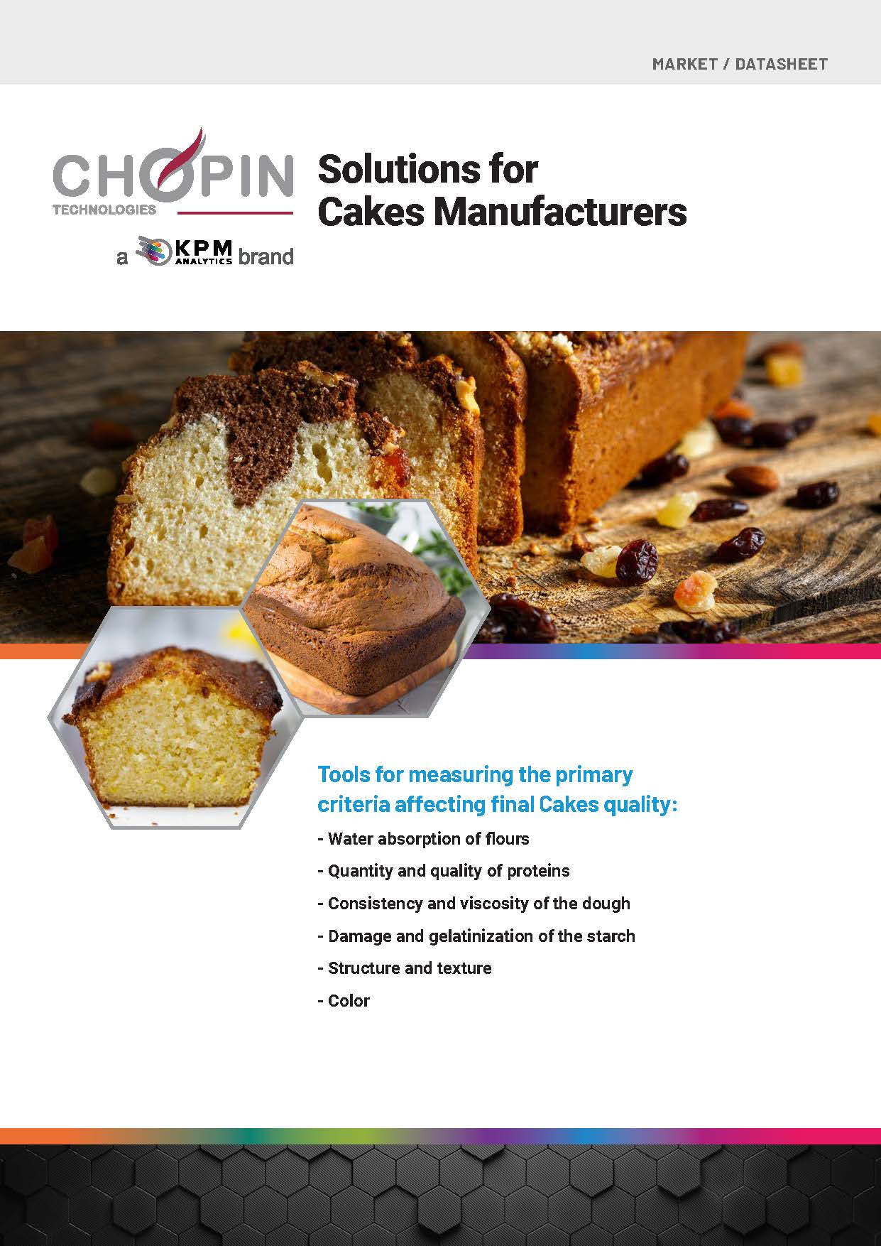 Solutions for Cakes Manufacturers