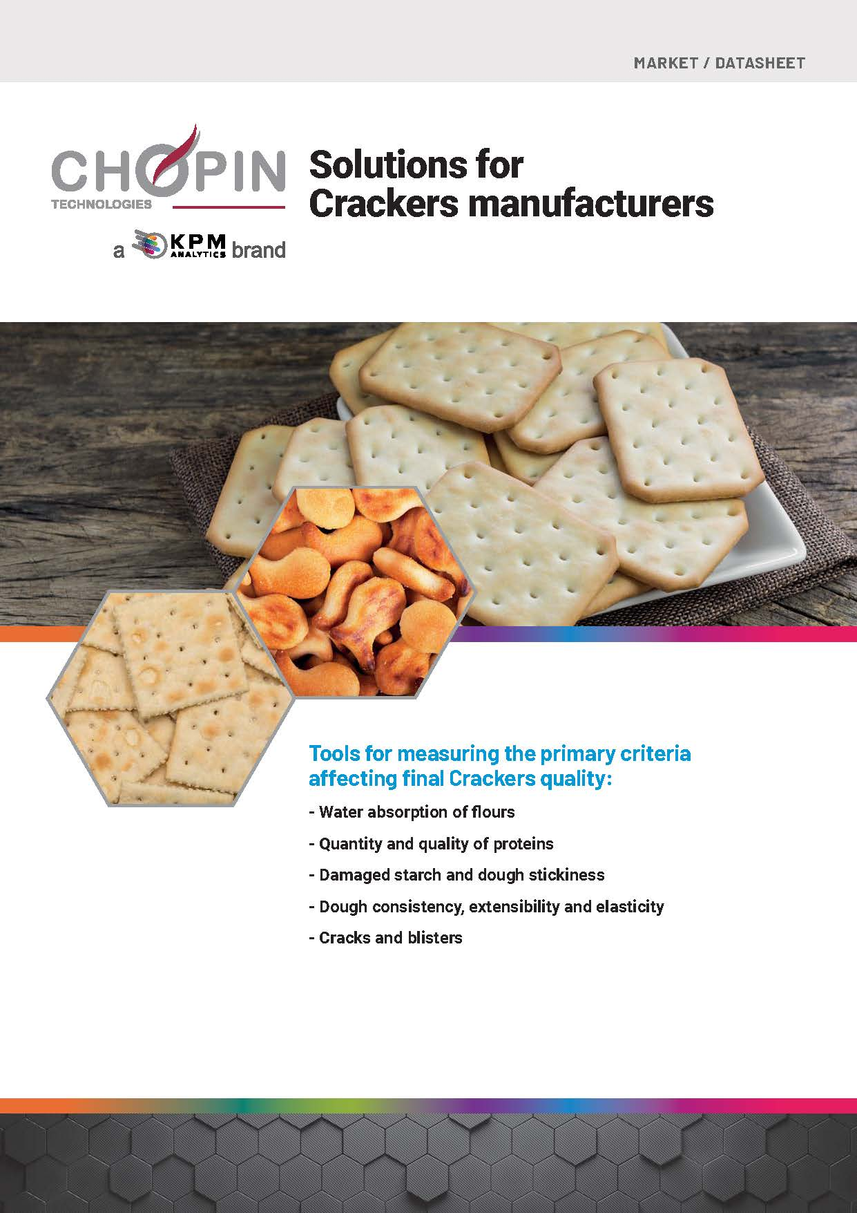 Solutions for Crackers Manufacturers