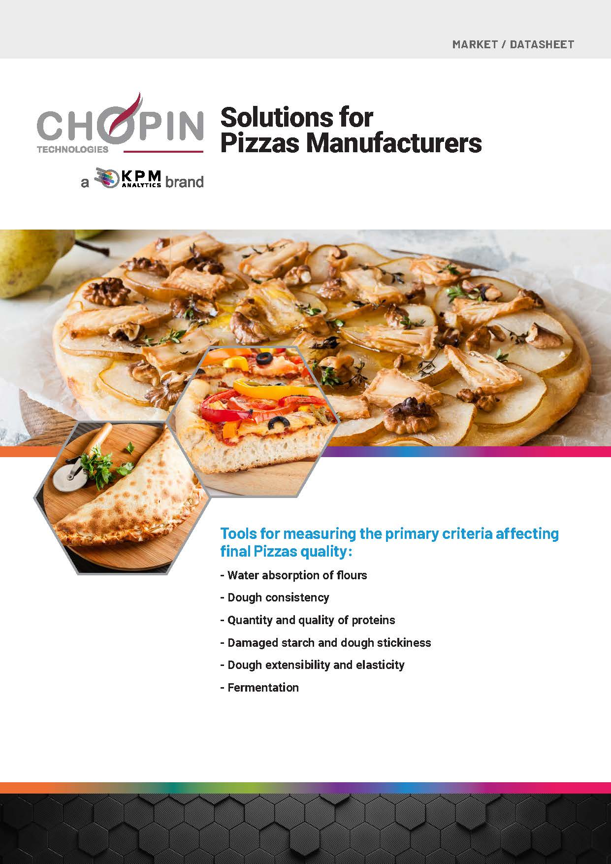 Solutions for Pizza Manufacturers