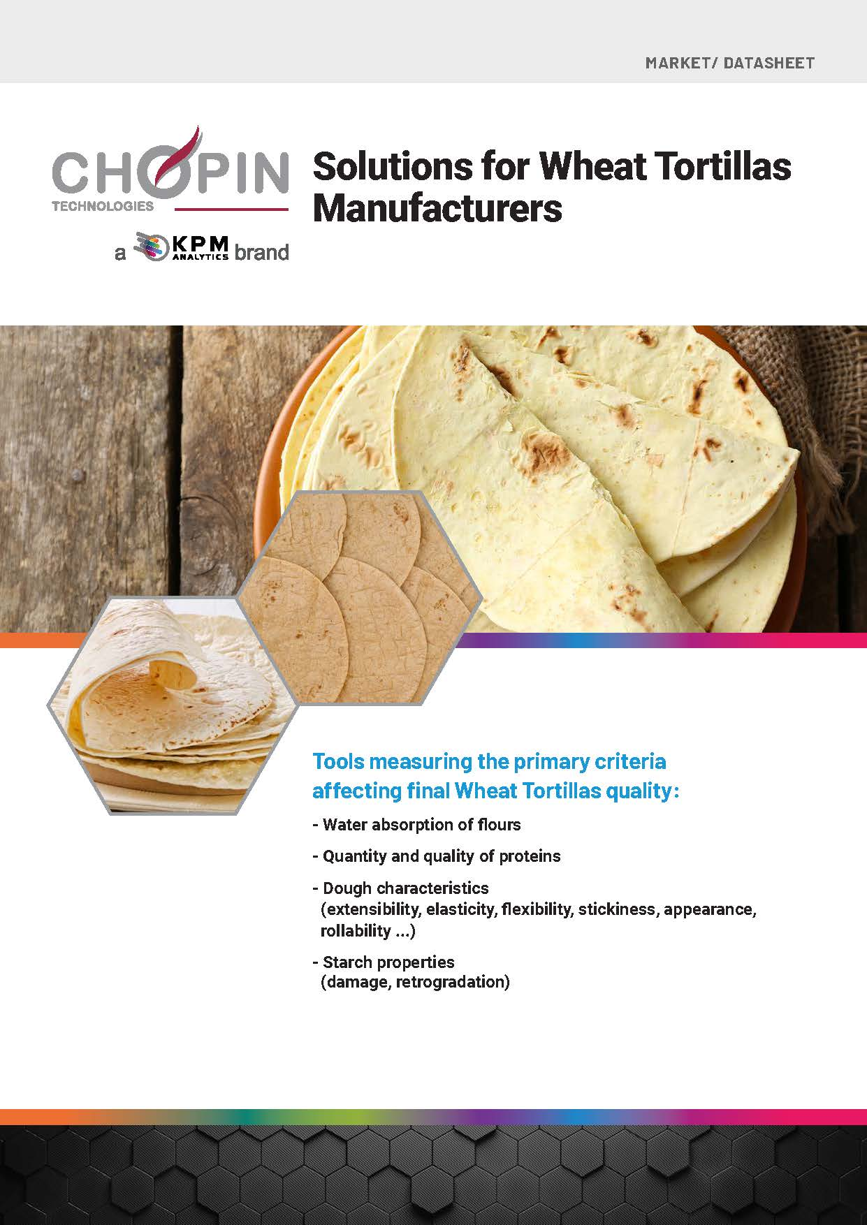 Solutions for Wheat Tortilla Manufacturers