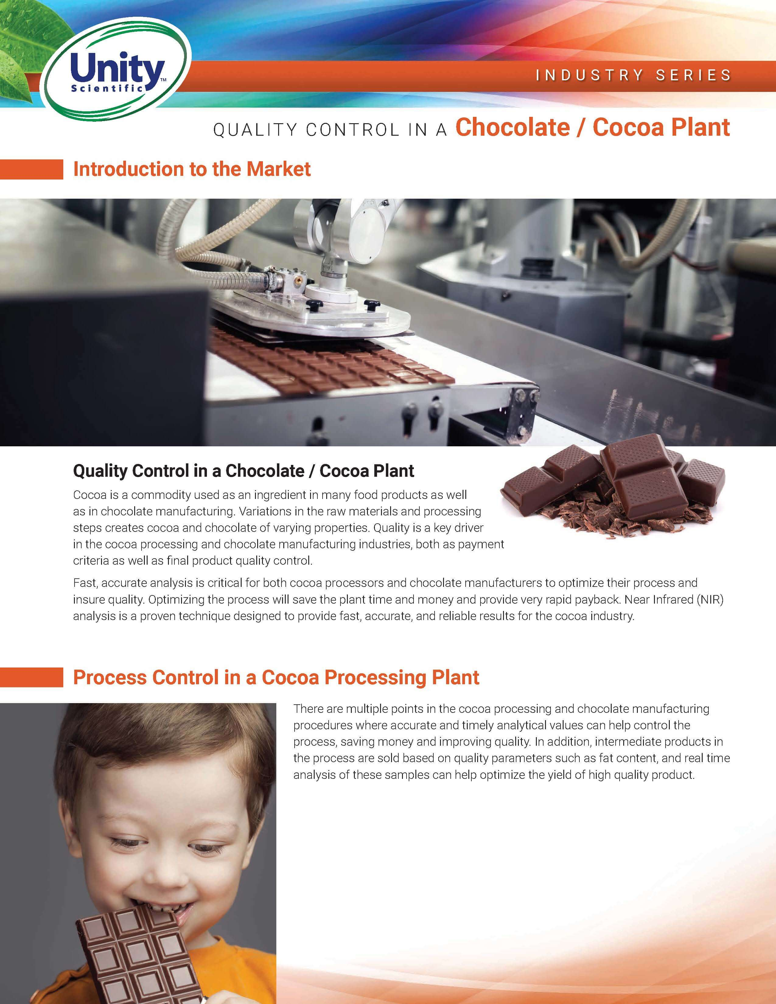 Industry Series - Quality Control In A Chocolate / Cocoa Plant