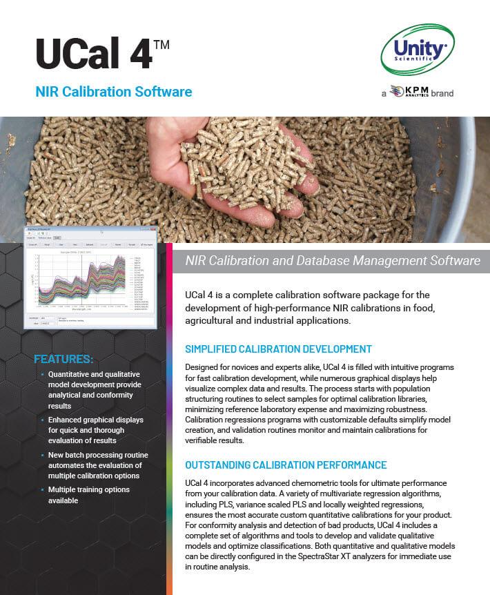 Unity Scientific UCal4 Software