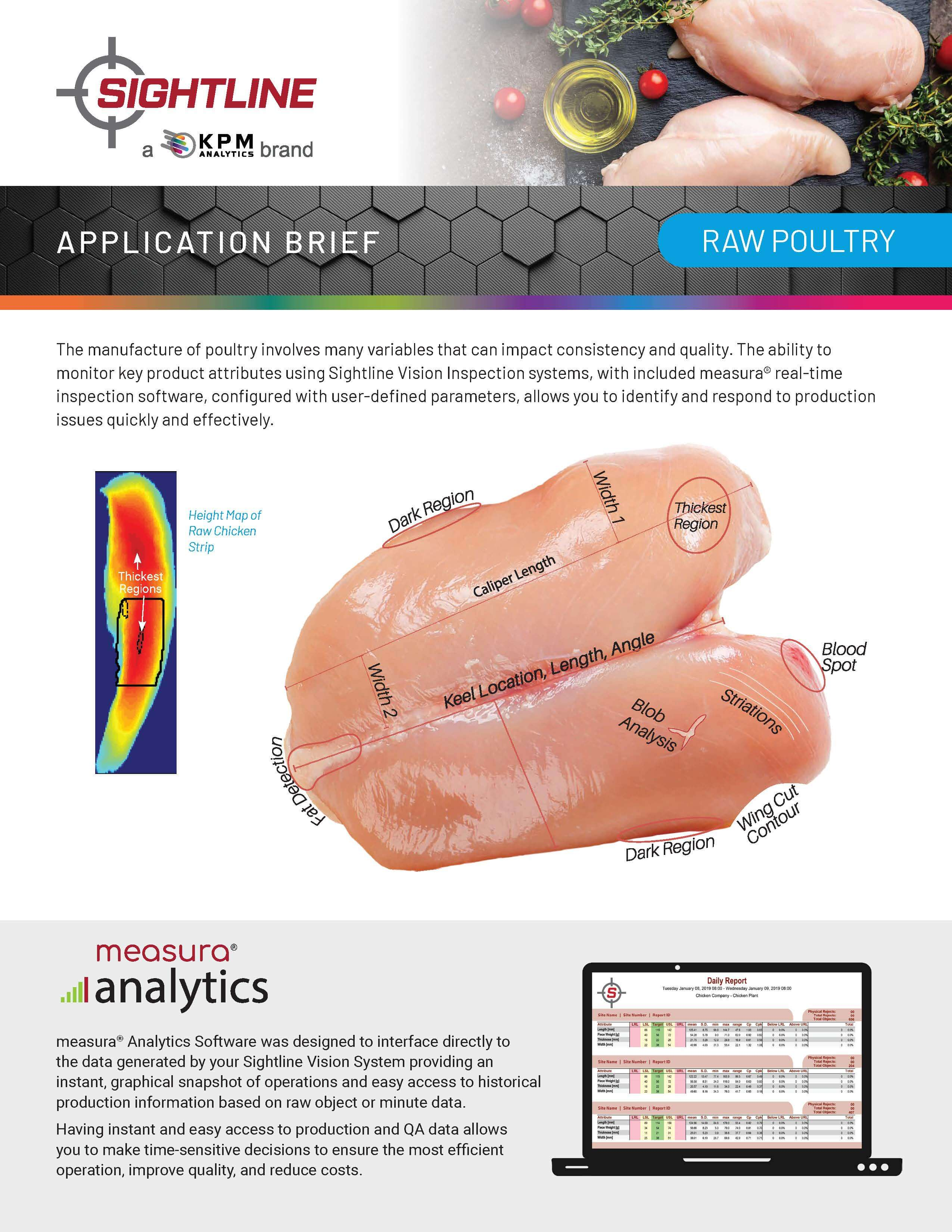 Vision Inspection of Raw Poultry