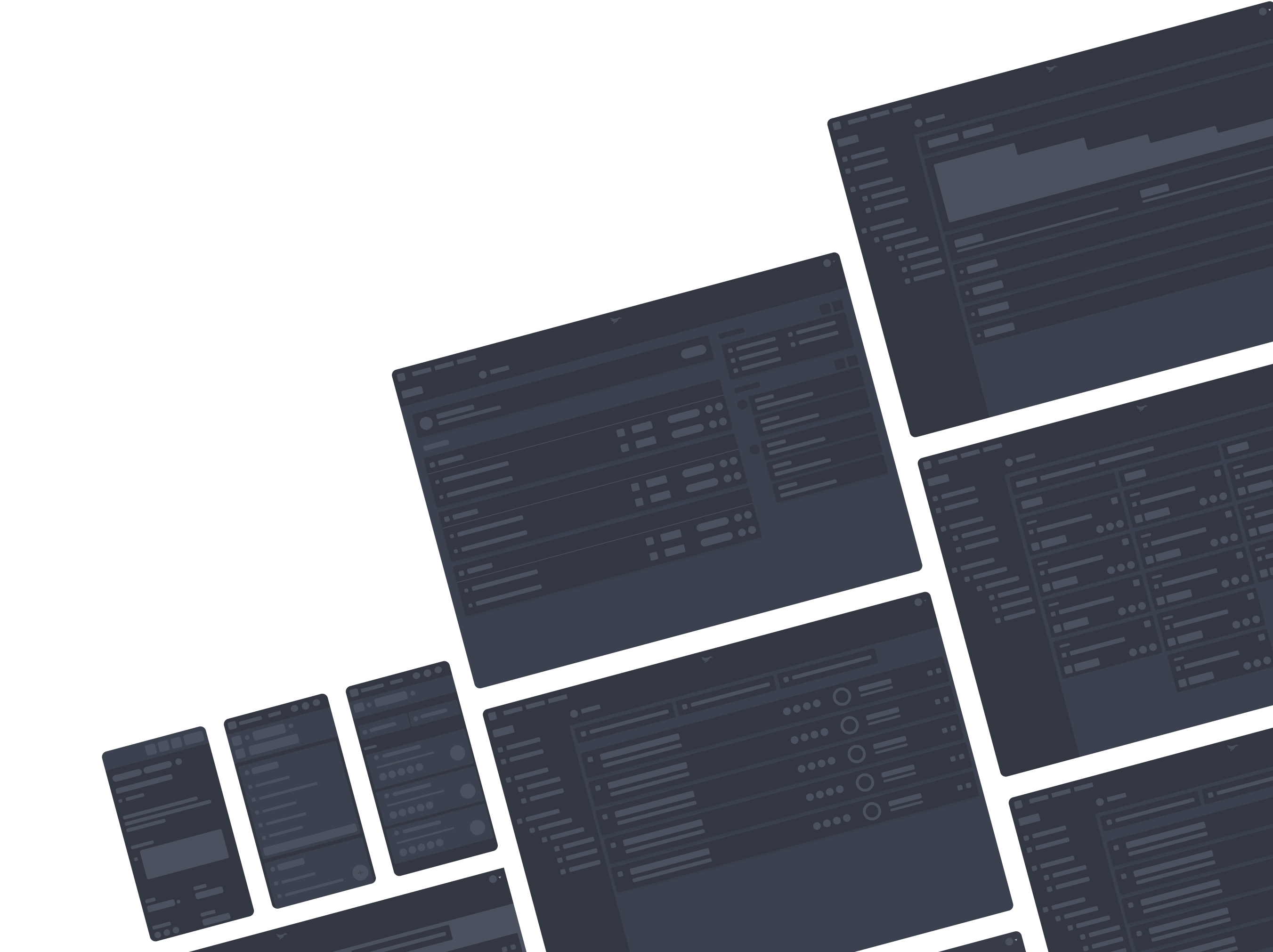 Multiple Wireframes
