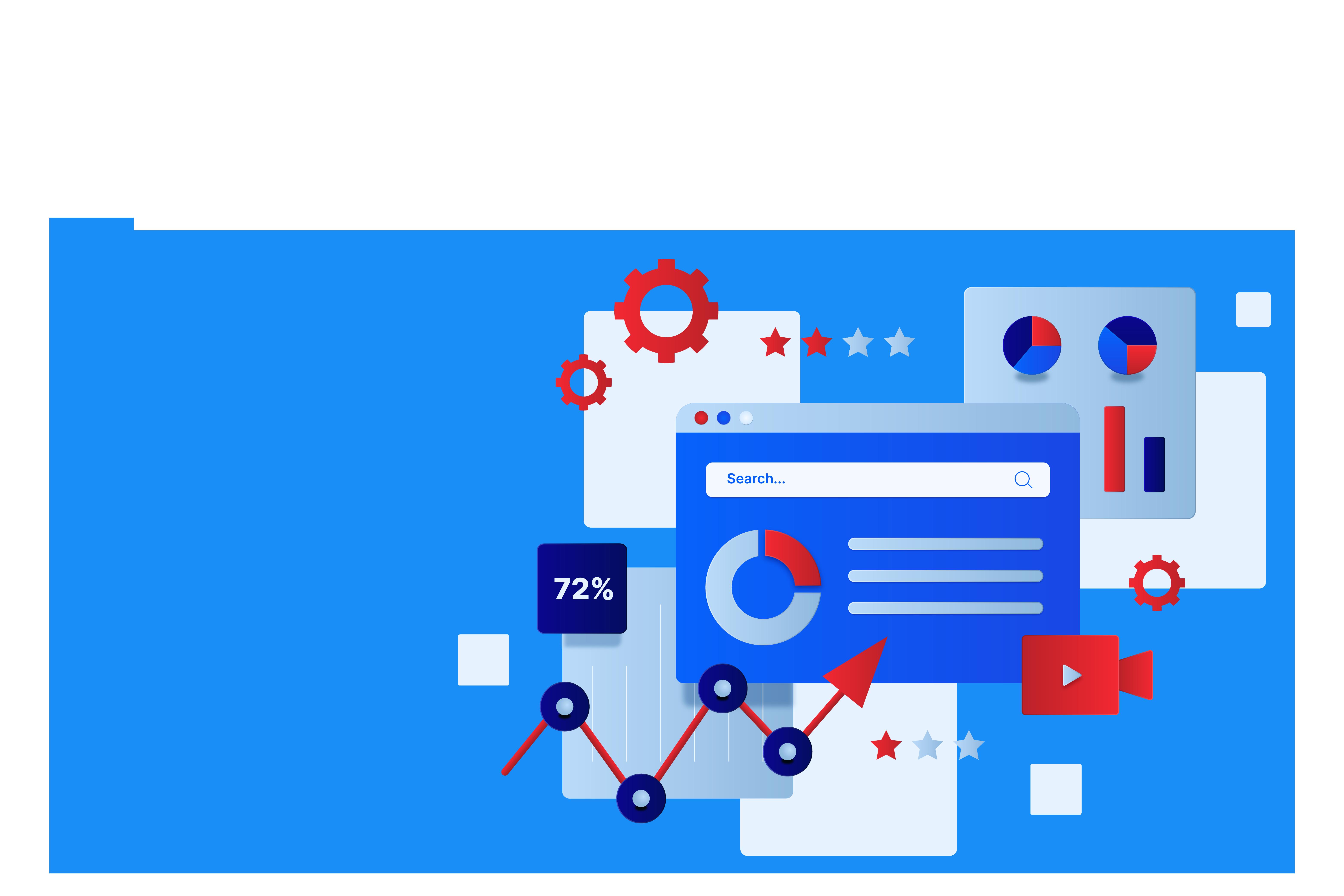 website design interface