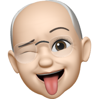 winking memoji character with tongue out