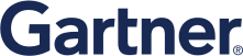 Logo of the company called Gartner
