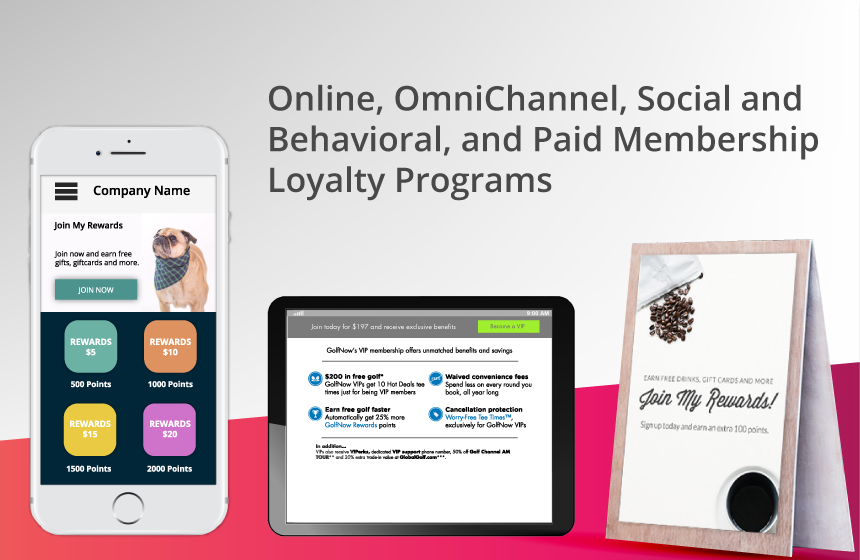 example of the annex customer loyalty cloud app in use