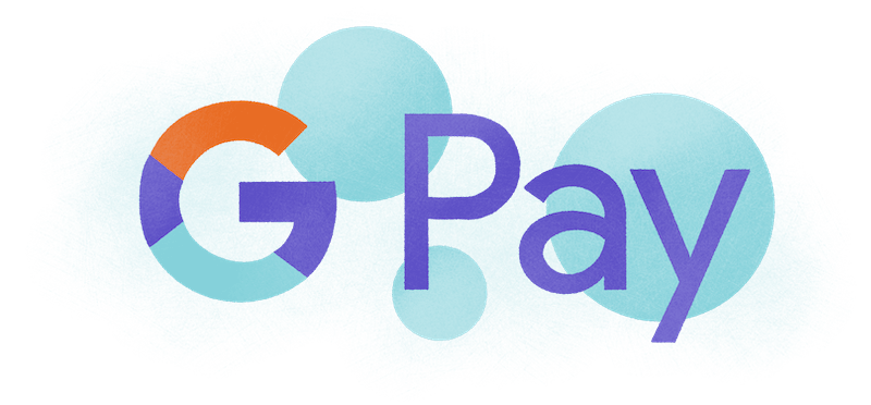 google pay abstract design