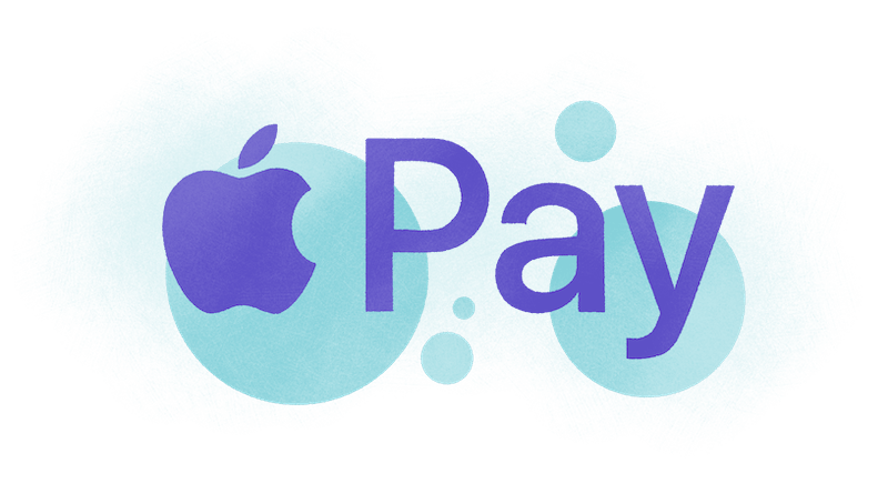 apple pay abstract design